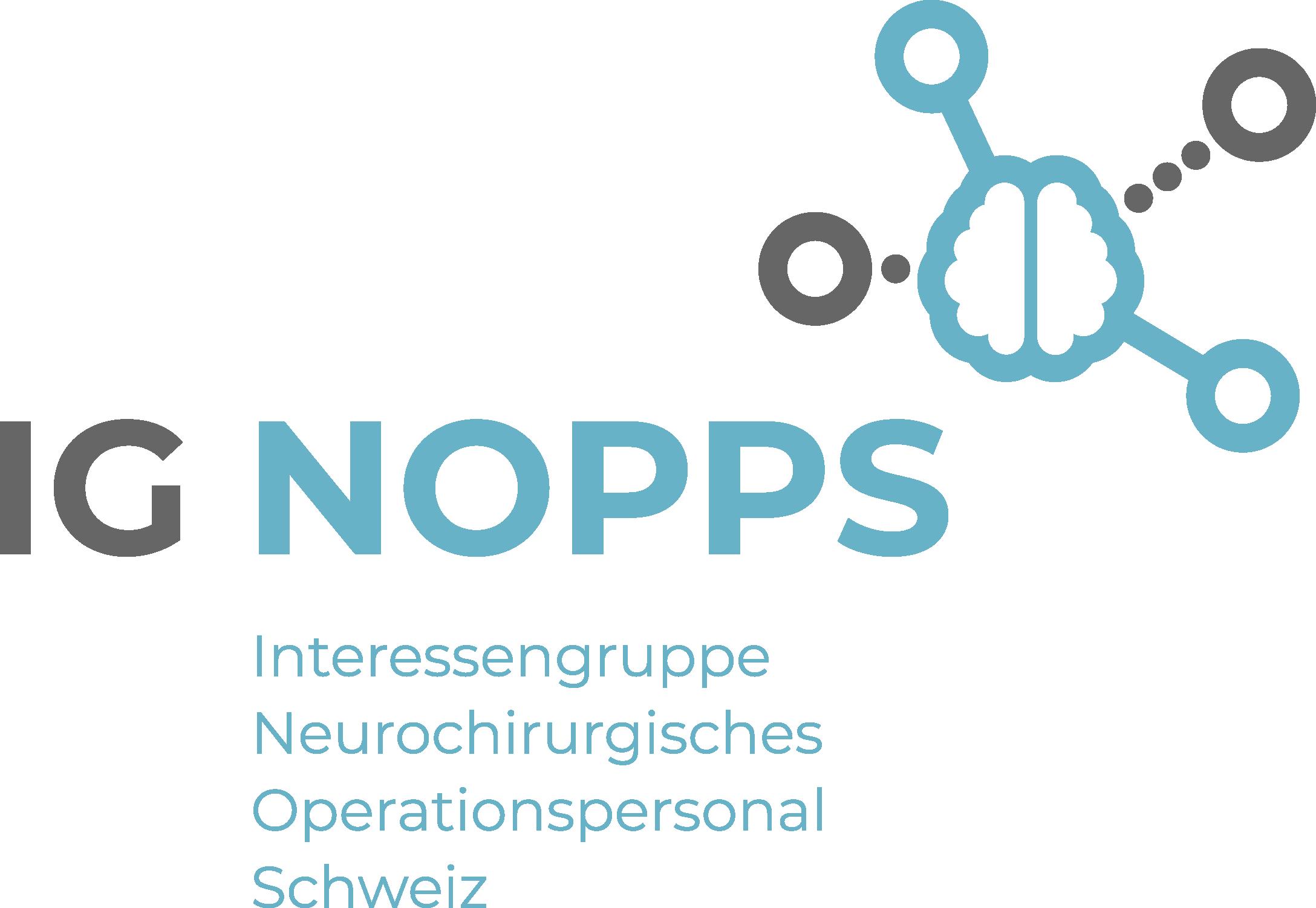 Logo - IG-NOPPS Interessengruppe Neurochirurgisches Operationspersonal Schweiz